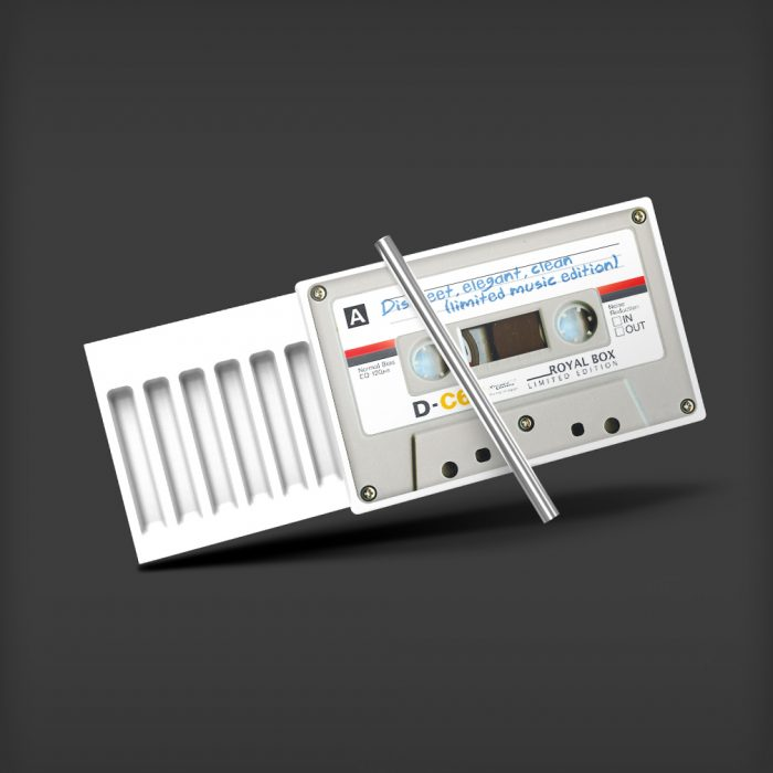 Royal Box - Cassette White