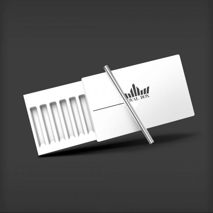 Royal Box - Plastic White