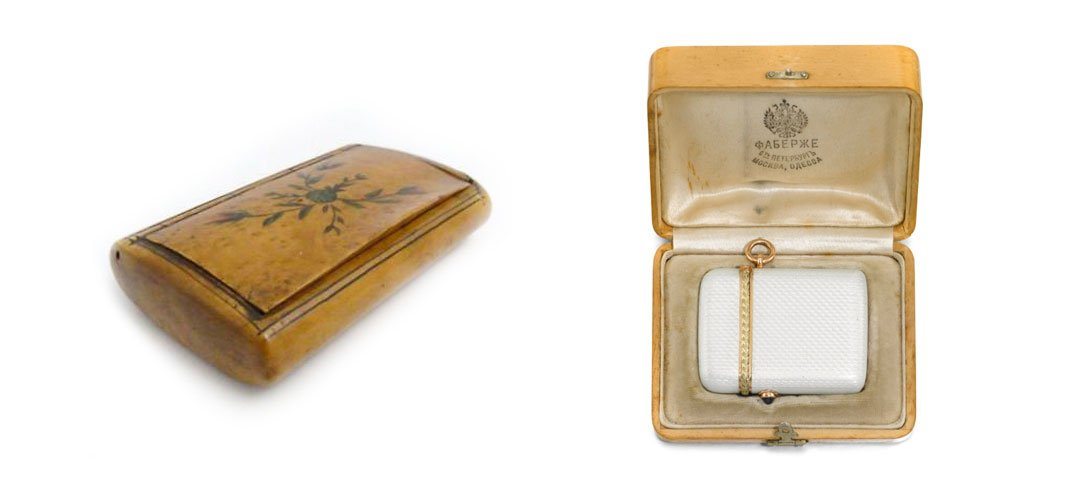 Faberge snuff box